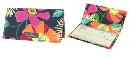 Vera Bradley Checkbook Cover in Jazzy Blooms