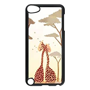 Personalized Giraffe in Love Ipod Touch 5 Case, Giraffe in Love Customized Case for iPod Touch5 at Lzzcase