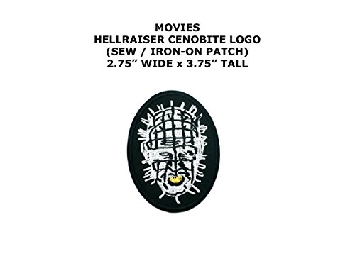 Hellraiser Cenobite Horror DIY Embroidered Sew or Iron-on Applique Patch Outlander Gear