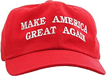 514289a5c6d Make America Great Again - Donald Trump 2016 Campaign Cap Hat (002) Red