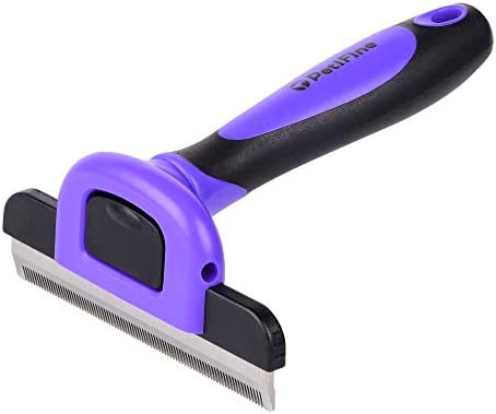 PetiFine Shedding Brush Deshedding Tool,D-Shedz for Breeds of Dogs, Pet Grooming Brush for Cats with Short or Long Hair, Small, Medium and Large