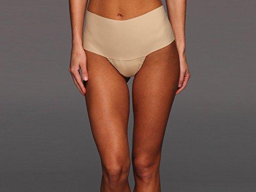 - Hanky Panky Women's Maternity Bare Godiva Thong Panty, Taupe, Large