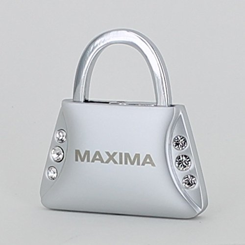 Nissan Maxima Purse Shape Keychain W/6 Swarovski Crystals