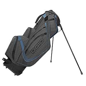 OGIO Shredder Stand Bag, Ash/Blue