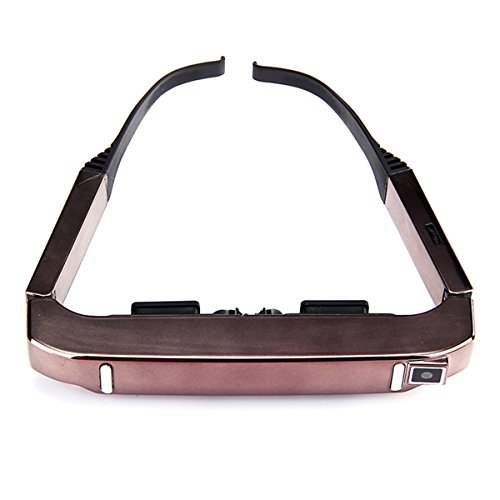 HITSAN VISION-800 3D Goggles Video Glasses Android 4.4 MTK6582 1G/2G 5MP AC WIFI BT4.0 2060P MIC One Piece