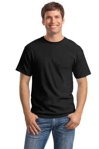 Hanes Men's Comfortsoft T-Shirt (Pack Of 4),Black,Large by Hanes