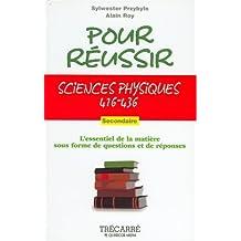 Sciences physiques 416-436
