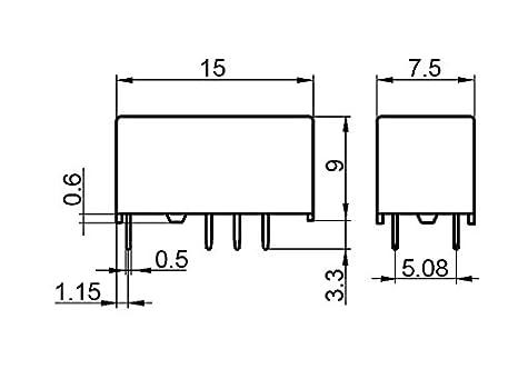 Subminiatur-Signalrelais HONGFA HFD3//5