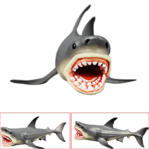 Beneficial Toys And Games Online Megalodon Prehistoric Shark Ocean Education Animal Figure Model For Boys Girls Kids Toy Gift (Black) (Best My Little Pony Drawing Tablets)