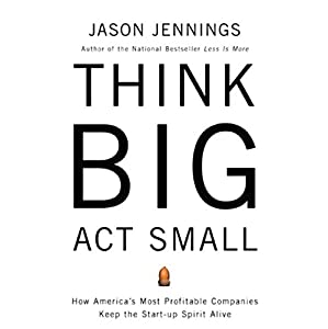 Think Big, Act Small Audiobook
