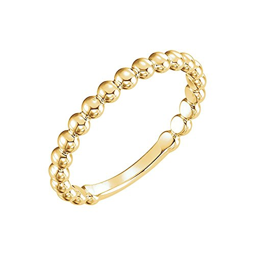 Gold 2.5 Mm Stackable - 5