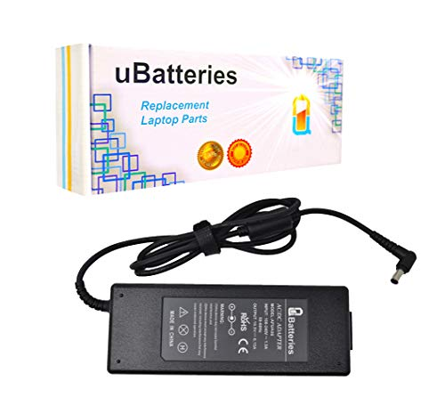 Frv Series Notebooks - UBatteries Compatible 120W AC Adapter Charger Replacement For Sony VAIO PCG-FRV SVZ-13 SVZ13 VGN-A VGN-AR100 VGN-AR200 VGN-AR300 VGN-AR500 VGN-AR600 VGN-AR700 VGN-AR800 VGN-AW VPC-F VPC-Z2 VPCZ2 Serie