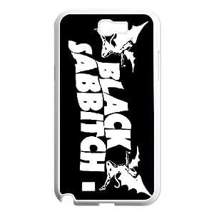 Samsung Galaxy Note 2 N7100 Phone Case Black Sabbath F4539157