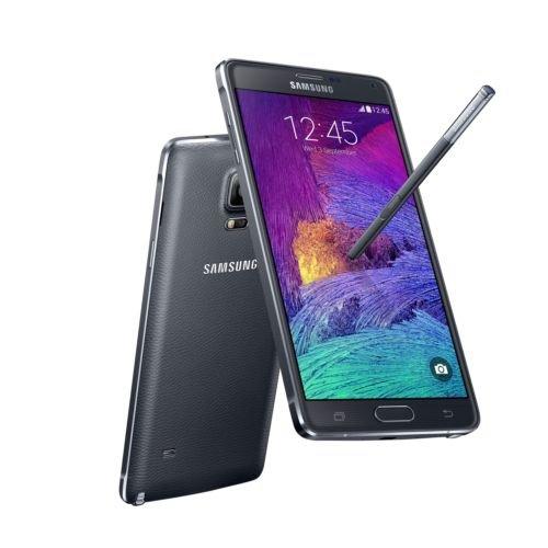 Samsung Galaxy Note 4 N910A 32GB Unlocked GSM 4G LTE Smartphone Black (Phone Unlocked Lte Gsm 4g Cell)