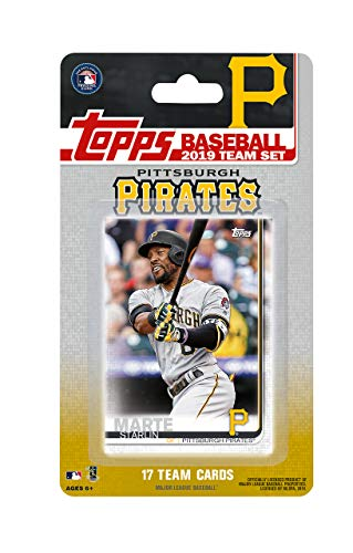 (Pittsburgh Pirates 2019 Topps Factory Sealed Special Edition 17 Card Team Set with Starling Marte and Josh Bell Plus)