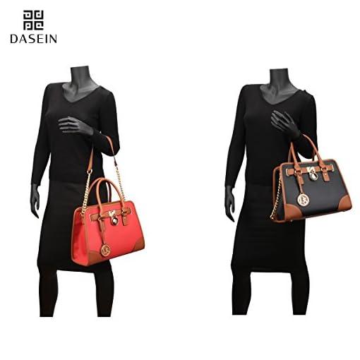 16399a4348f5 DASEIN Women Handbags Top Handle Satchel Purse Shoulder Bag ...