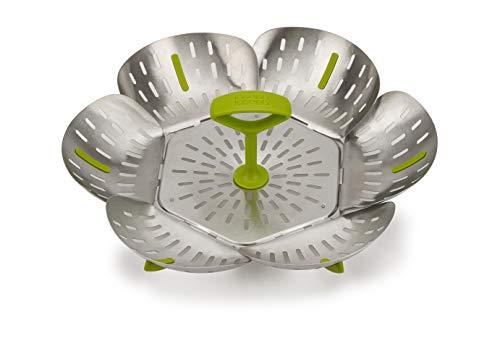 Joseph Joseph Bloom Stainless-Steel Steamer Basket Folding, One-Size