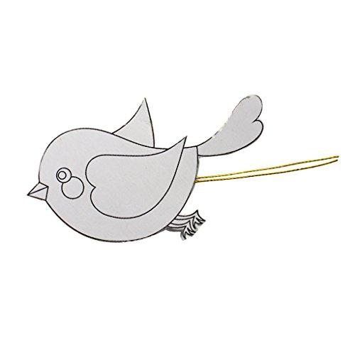 Baoblaze DIY Assemblé Oiseau D'équilibre en Plastique Jouet éducatif Expériences Physiques Cadeau Pour Enfant