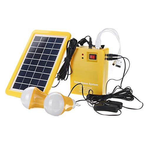Solar Dc Home Lighting System in US - 9