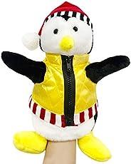 "Plush Penguin Hand Puppet 13"" Cute TV Friends Plush Hand Puppet Joey's Friend HUGSY Penguin Rachel St"