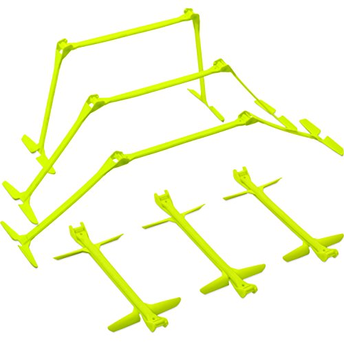 QuickPlay PRO Adjustable Height: 6″, 9″ + 12″ All-in-One Speed Hurdles (Set of 6) Speed Training Hurdles, Agility Hurdles and Plyometric Hurdles – DiZiSports Store