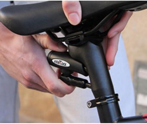 Interlock Tija de Sillin de Bicicleta con Cable de Seguridad ...