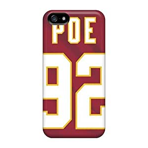 For Iphone Case, High Quality Kansas City Chiefs For Iphone 5/5s Cover CasesKimberly Kurzendoerfer