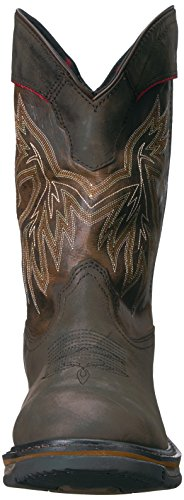 RKW0202 Western Dark Rocky Brown Boot Men's vwzxCqE5