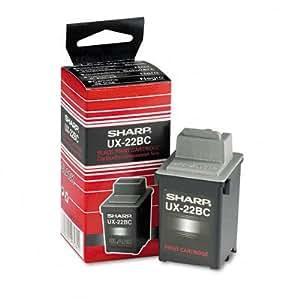 Sharp® UX22BC, UX27CC Inkjet Cartridge CARTRIDGE,F/2200CM,BK (Pack of2)