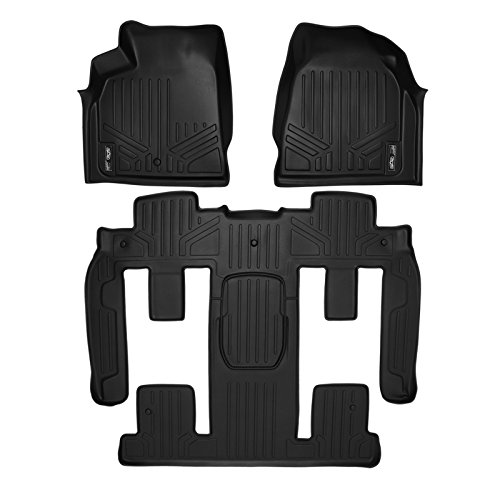 ts 2 Row Set Black for Traverse / Enclave / Acadia / Outlook (With 2nd Row Bucket Seats) (2008 Floor)
