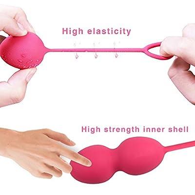 Kegel Exercise Weights for Women Bladder Controll and Pelvic Floor Exercise Set of 4 Premium Viginal Kegel Balls Beginner to Advanced