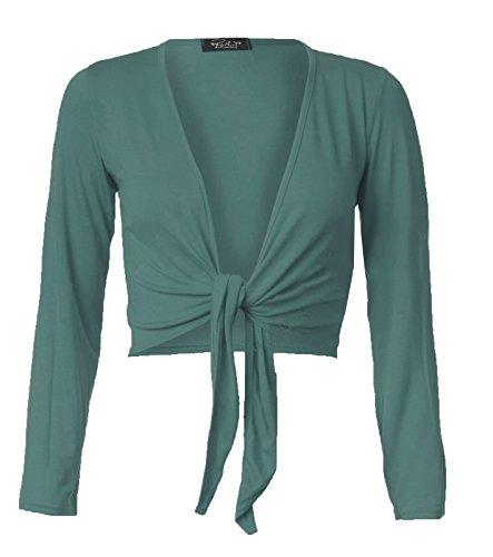 Fast Fashion - Camiseta sin mangas - Manga Larga - para mujer azul (petróleo)