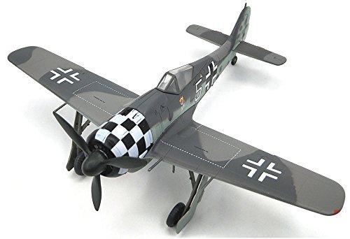 WWII Fw190 A-6 I./JG1 White 5 Uffz Rudolf Hubl 1/72