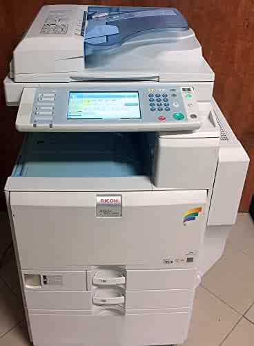Refurbished Ricoh Aficio MP C3300 Color Multifunction Printer - 33 ppm, Tabloid-size, Copy, Print, Scan, 2 Trays