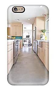 Iphone 6 Cover Case - Eco-friendly Packaging(bright Galley Kitchen In Open Floor Plan)