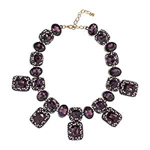 Just Showoff Women's Alloy Crystals Necklace