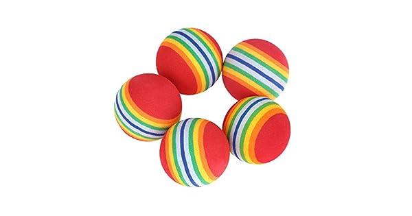 Amazon.com: Maikouhai 5 piezas de esponja pelota de golf ...