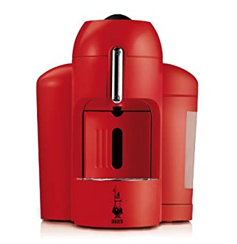 Bialetti Mini Express Máquina de café en cápsulas Rojo - Cafetera ...