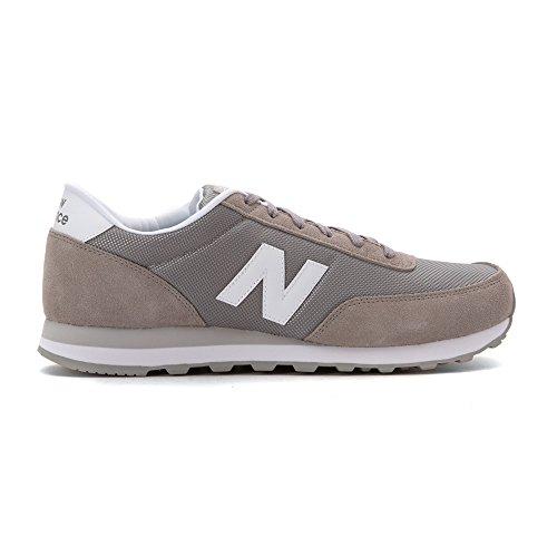 Uomo in TRADITIONNELS CLASSICS Sneaker pelle Grey 3 ML501GGW scamosciata Balance New YEx4P