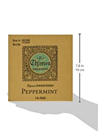 Chimes Peppermint Ginger Chews, 5-Pound Box