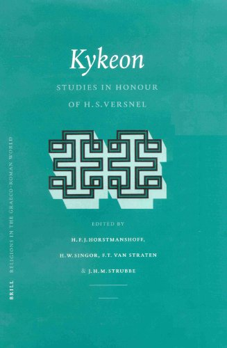 Kykeon: Studies in Honour of H.S. Versnel (Religions in the Graeco-Roman World)