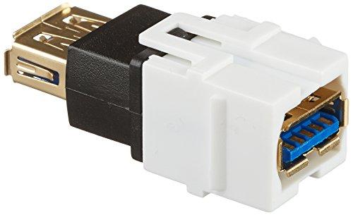 Monoprice 107836 Keystone Jack USB Coupler