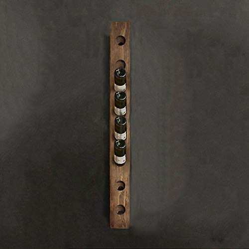 Tritow American Wall Hanging Wood Wine Rack Wall Hanging Wine Rack Creative Wine Rack Bodega de vinos Bar Estante de Vino