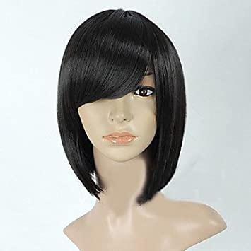 GSP-la mayoría de las mujeres largas medias negras populares peluca sintética completa , black