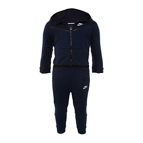 NIKE Tech Fleece 2 Piece Sweatsuit Obsidian Blue Baby Size 12-18 Months 66B400