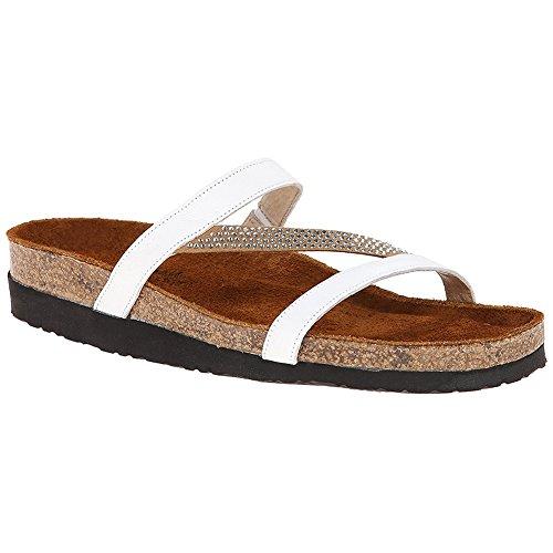 - Naot Women's Hawaii Dress Sandal, White, 39 EU/8 M US