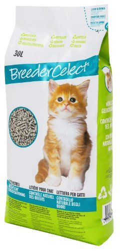Fibrecycle USA Inc. Breeder Celect Cat Litter 30 Liter by FIBRECYCLE UK Ltd.