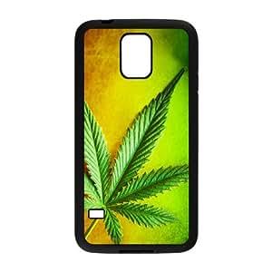 Samsung Galaxy S5 Phone Case for Marijuana Leaf grass pattern design