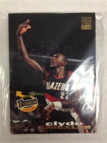 Team Trail (1993-94 Topps Stadium Club Portland Trail Blazers Team Set 13 Cards Clyde Drexler Terry Porter Rod Strickland)
