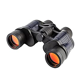 Binoculars for Adults 8x35 Field of View 3000M Night Vision Compact Binocular with Case for Bird Watching Hunting Camping